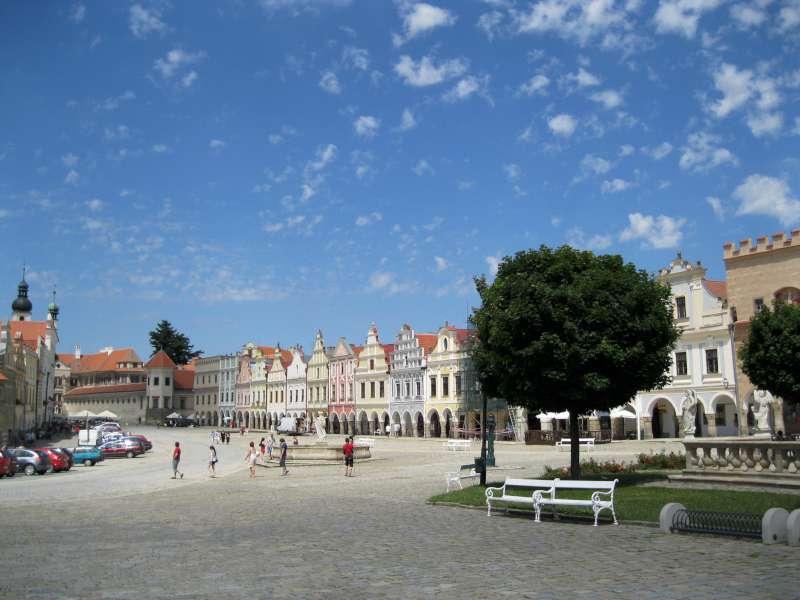 Telč – zámek a město