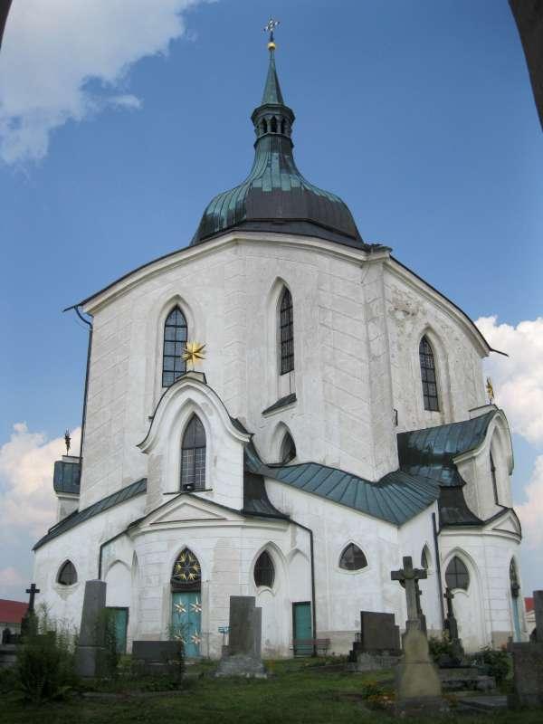 Zelená hora – poutní kostel sv. Jana Nepomuckého